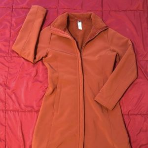 Women M Patagonia Soft Shell Water Resistant Coat